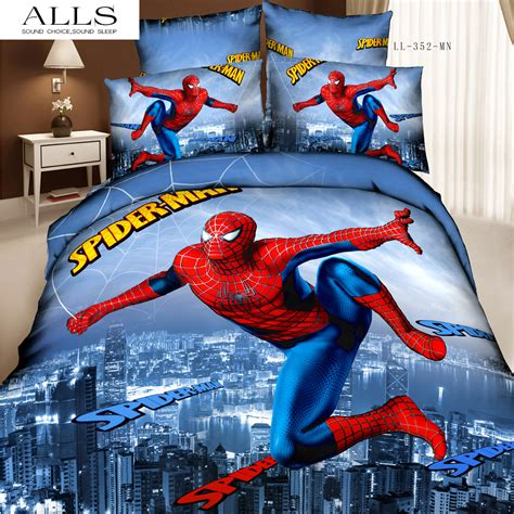 spiderman twin bed set spiderman twin bedding set home furniture design