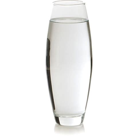 vaso trasparente vaso oval transparente 34cm