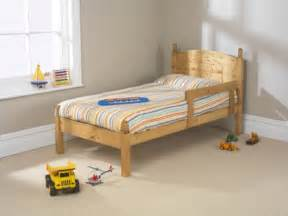 Small Bed Frame Wooden Friendship Mill Football 2ft6 Small Single Pine Wooden Bed