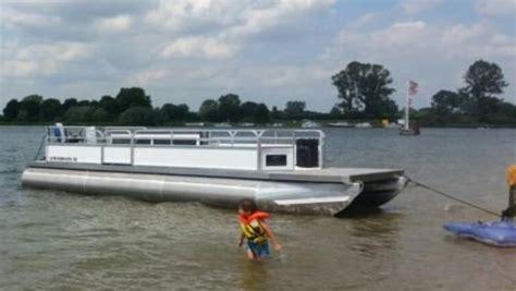 boot spullen te koop pontonboot terrasboot rolstoelboot casco pontonboot