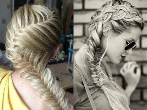 fishbonr breaid fishbone braid hairstyles ideas to try hairdrome com