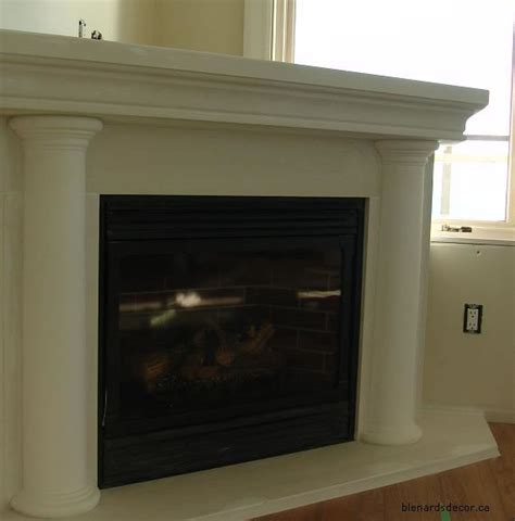 Corner Fireplace With Mantel by Corner Fireplace Mantel 05 Cast