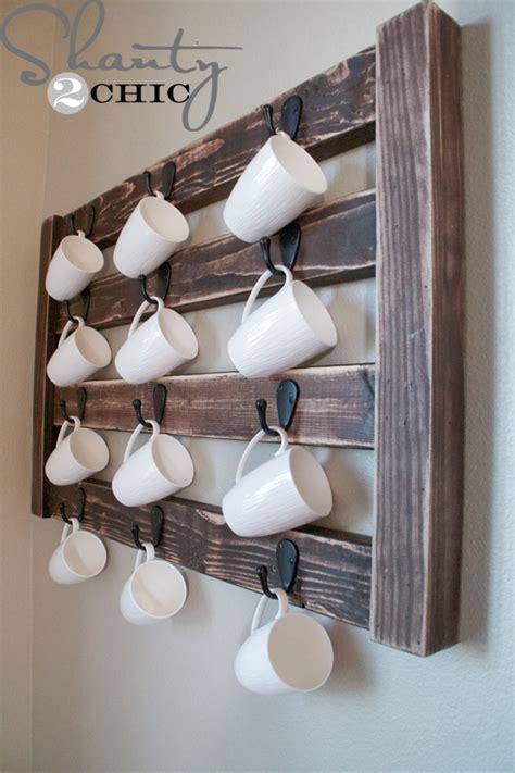 diy coffee racks  organize  morning cup  joe