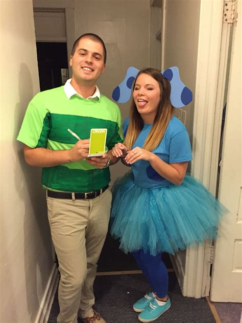 blues clues  steve couple halloween costume diy