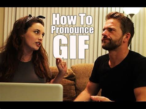Correct Pronunciation Of Meme - how to pronounce gif youtube