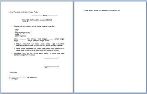 format surat pengunduran diri pegawai negeri sipil contoh surat izin cuti pegawai negeri sipil format resmi