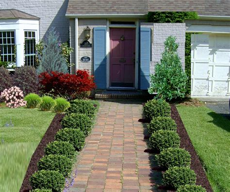front garden design plans small designs home with