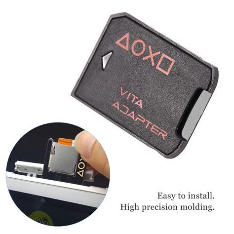 Konverter Micro Sd Microsd To Ps Vita 3 0 Versi Joss sd2vita psvsd micro sd card adapter for ps vita 1000 2000 henkaku enso 3 60 ct ebay
