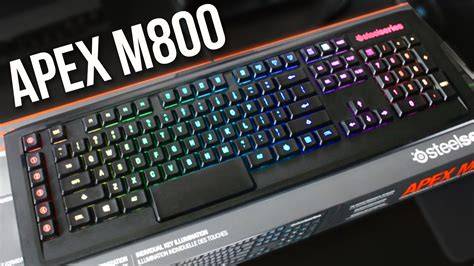 Steelseries Giveaway - steelseries apex m800 hardware review discount code giveaway youtube