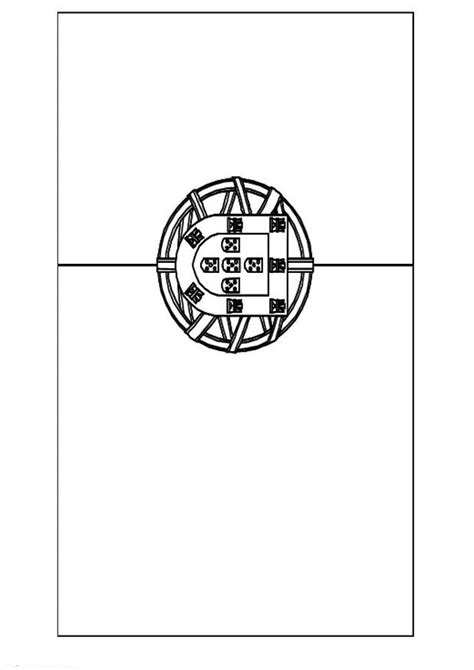 Chanel Logo Coloring Pages Portugal Flag Coloring Page