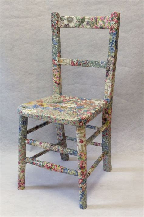 decoupage a chair pin by vio bio on membrillo