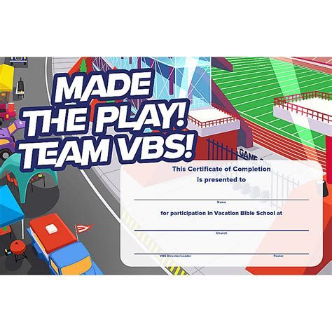 free vbs certificate templates vbs 2018 certificates of completion 50 certificates lifeway
