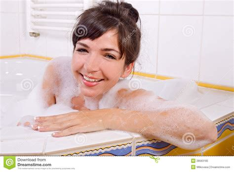 women in bathtub woman in the bathtub royalty free stock photo image