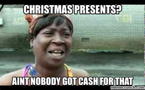 Christmas Shopping Meme - broke christmas shopping