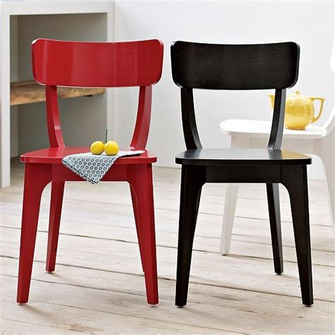 Modern Klismos Chair | klismos dining chair modern dining chairs by west elm