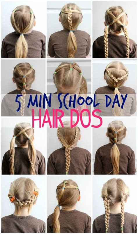 easy hairstyles for school in the morning pictures hairstyles to do for school black hairstle