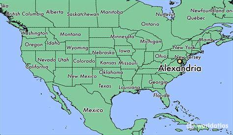 alexandria virginia map where is alexandria va alexandria virginia map