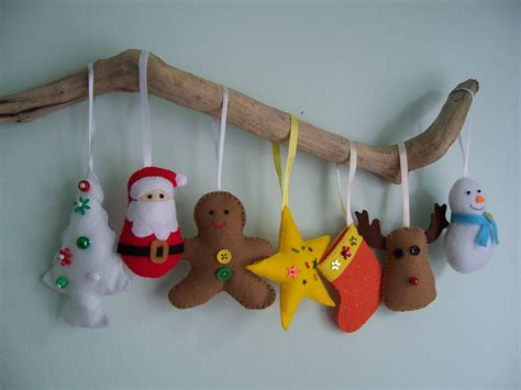 felt christmas ornament patterns free patterns