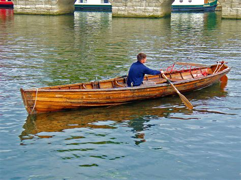 on a row boat rowing boats boat hire stratford upon avon