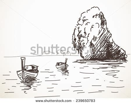 thailand boat drawing thai boat stock images royalty free images vectors