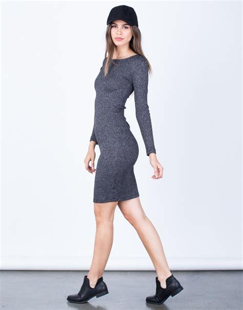 casual knit dresses casual knit bodycon dress lbd dress black dress