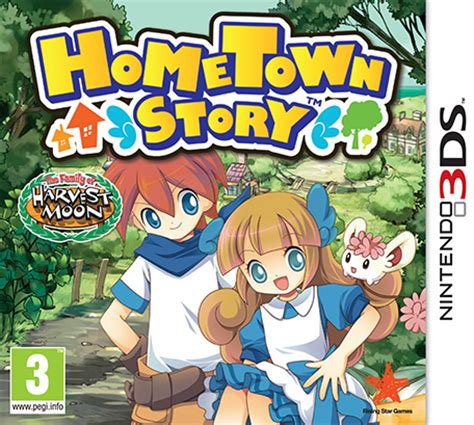 Hometown Story by Hometown Story Nintendo 3ds Jeux Nintendo