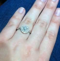 size 10 halo ring weddingbee