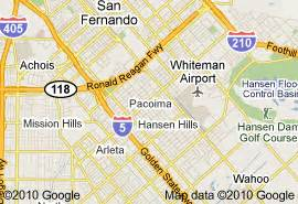 pacoima california map city of pacoima california time home buyers and