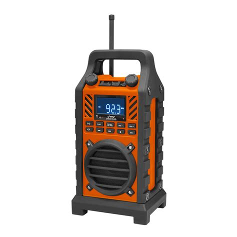 rugged fm radio pyle pwpbt250or rugged and portable bluetooth speaker with durable construction thick