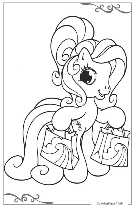 my little pony tales coloring pages my little pony printable coloring pages online for kids