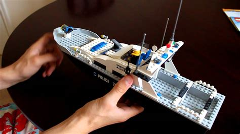 lego boat police 7899 lego review lego city police boat 7899 youtube