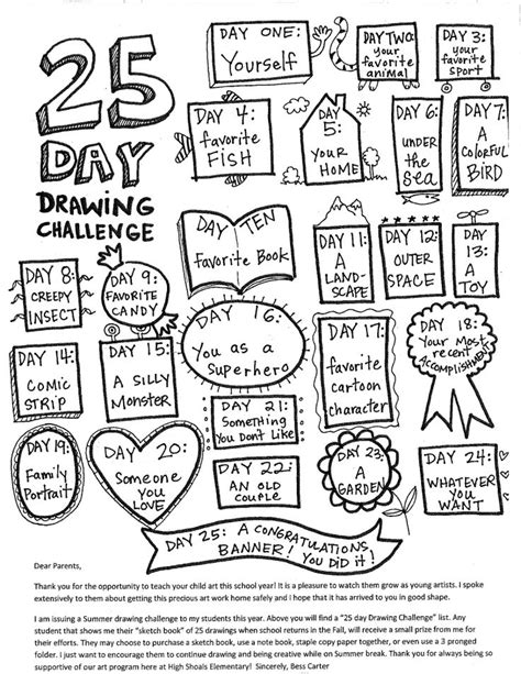 doodle challenge ideas 25 best ideas about sketchbook prompts on