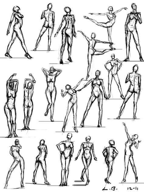 the best 110 poses for practice guide and tips for improving your health books 19 pose sketches by sketcherlew on deviantart