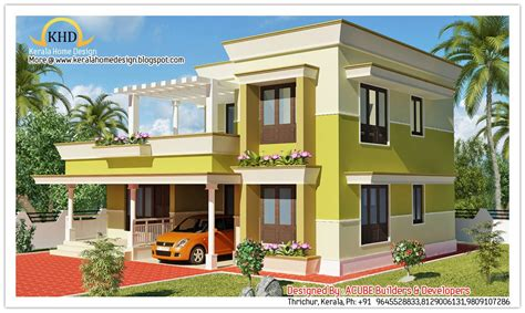 indian home design 2011 modern front elevation ramesh modern contemporary home elevation 1800 sq ft kerala