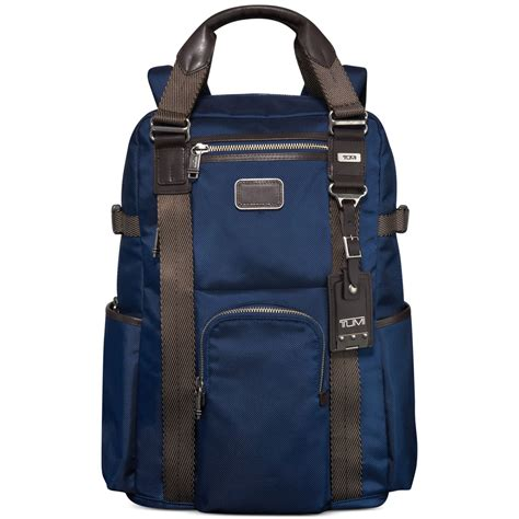 Tumi Backpacker 1 tumi alpha bravo lejeune backpack tote in blue for baltic lyst