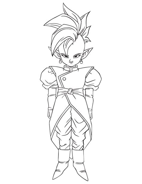 dragon ball character coloring page h m coloring pages dragon ball cartoon character coloring page h m