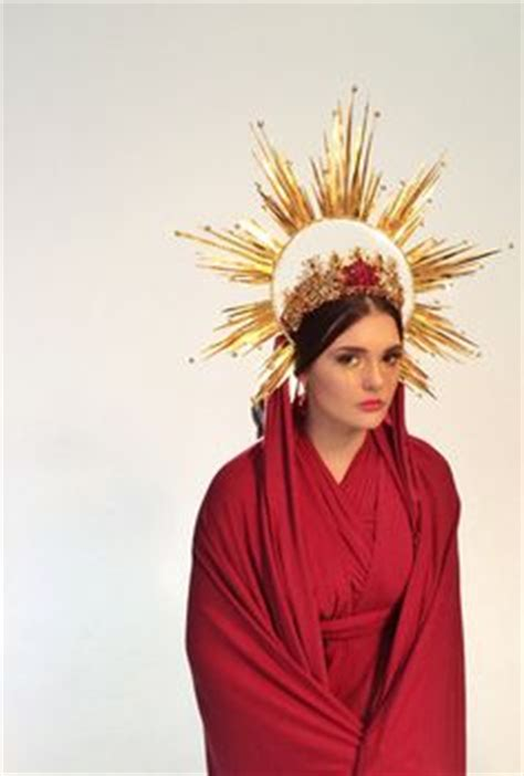 halo or halo crown gold halo headdress chrome halo crown of light gold