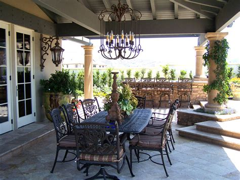 Outdoor Dining Room Furniture | semi indoor outdoor dining room iroonie com