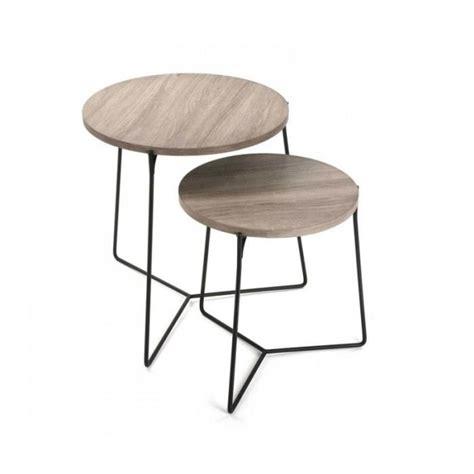 tables gigogne bois et metal achat vente tables