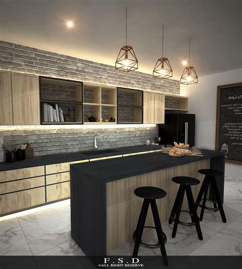 Designer Kitchen Island Five Star Design Interior Designer Johor Bahru