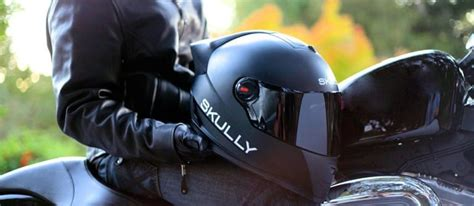 motorcycle helmet augmented reality skully ar 1 augmented reality helmet lets rider rear