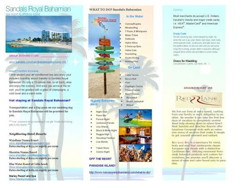 Destination Wedding Brochure For Guests by What Do I Include In My Destination Wedding Invitation