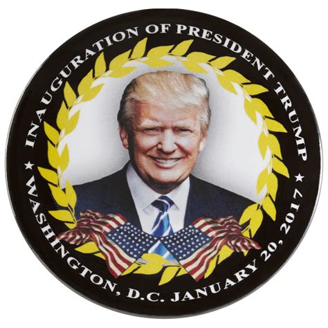 donald j trump inauguration day white house magnet 58th inauguration day guest button president donald j