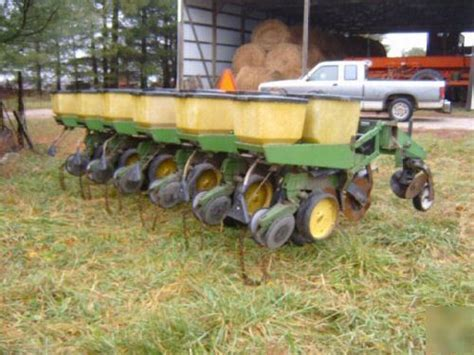 deere no till planter corn soybean yetter