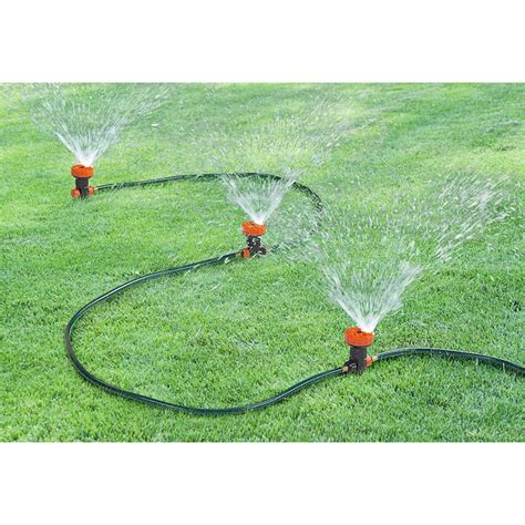 portable sprinkler system 158839 yard garden at