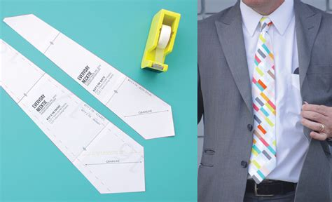 pattern make a tie everyday neckties made everyday