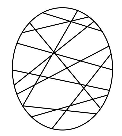 imagenes abstractas faciles de hacer huevo pascua abstracto dibujalia dibujos para colorear