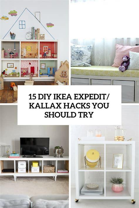 diy ikea kallax shelves hacks   attempt