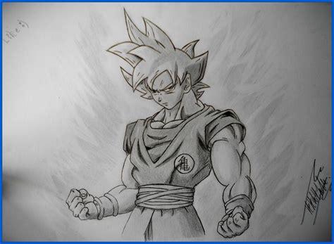 Imagenes De Goku A Lapiz | dibujos de goku en lapiz imagui