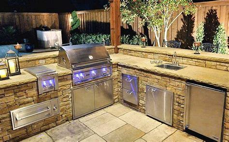 Custom Bbq Grills Texas Pool Finders Outdoors For Custom Backyard Barbecue Grills